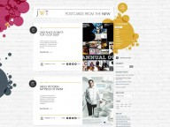 Blog Interface Design