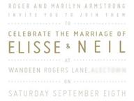 Country Rustic Wedding Invitation & Menus