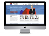 Responsive corporate web design for strata management specialists