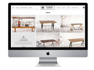 Logo, Branding and Website for Modern Industrial Furniture Company