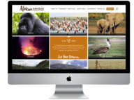 African Travel & Safari Operator website