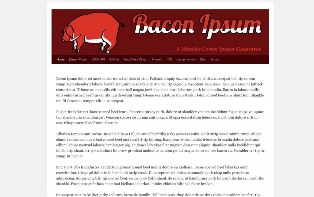 bacon-ipsum
