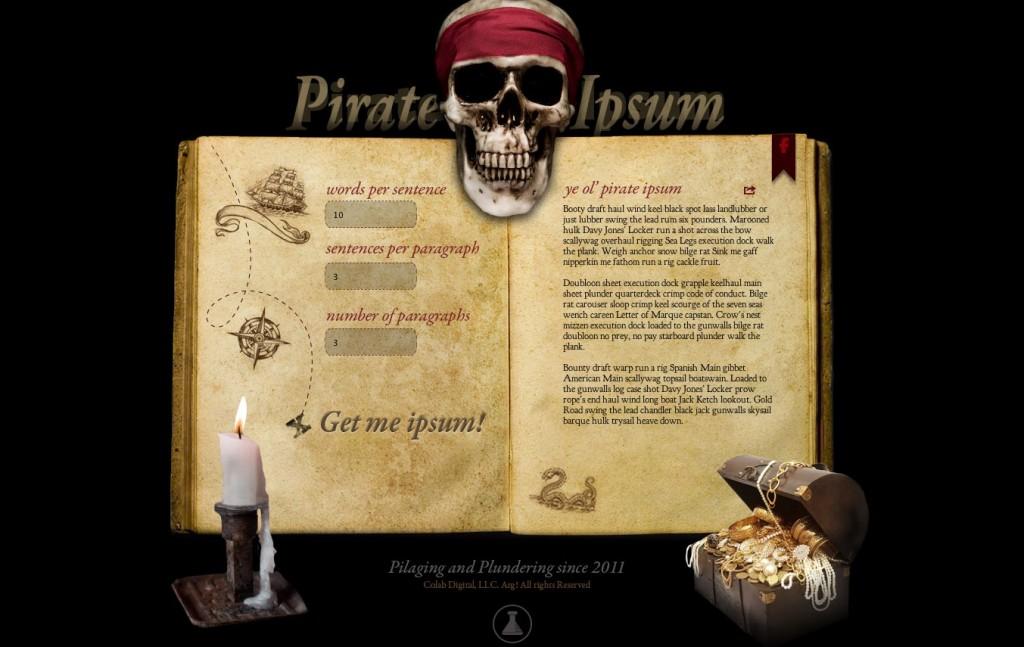 pirate-ipsum