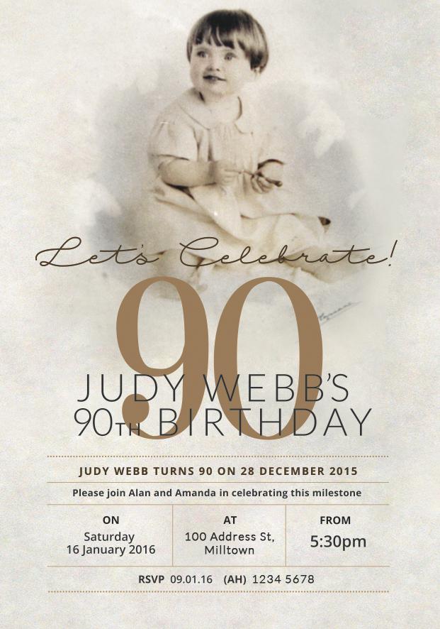 90th-birthday-party-invitation-celebration