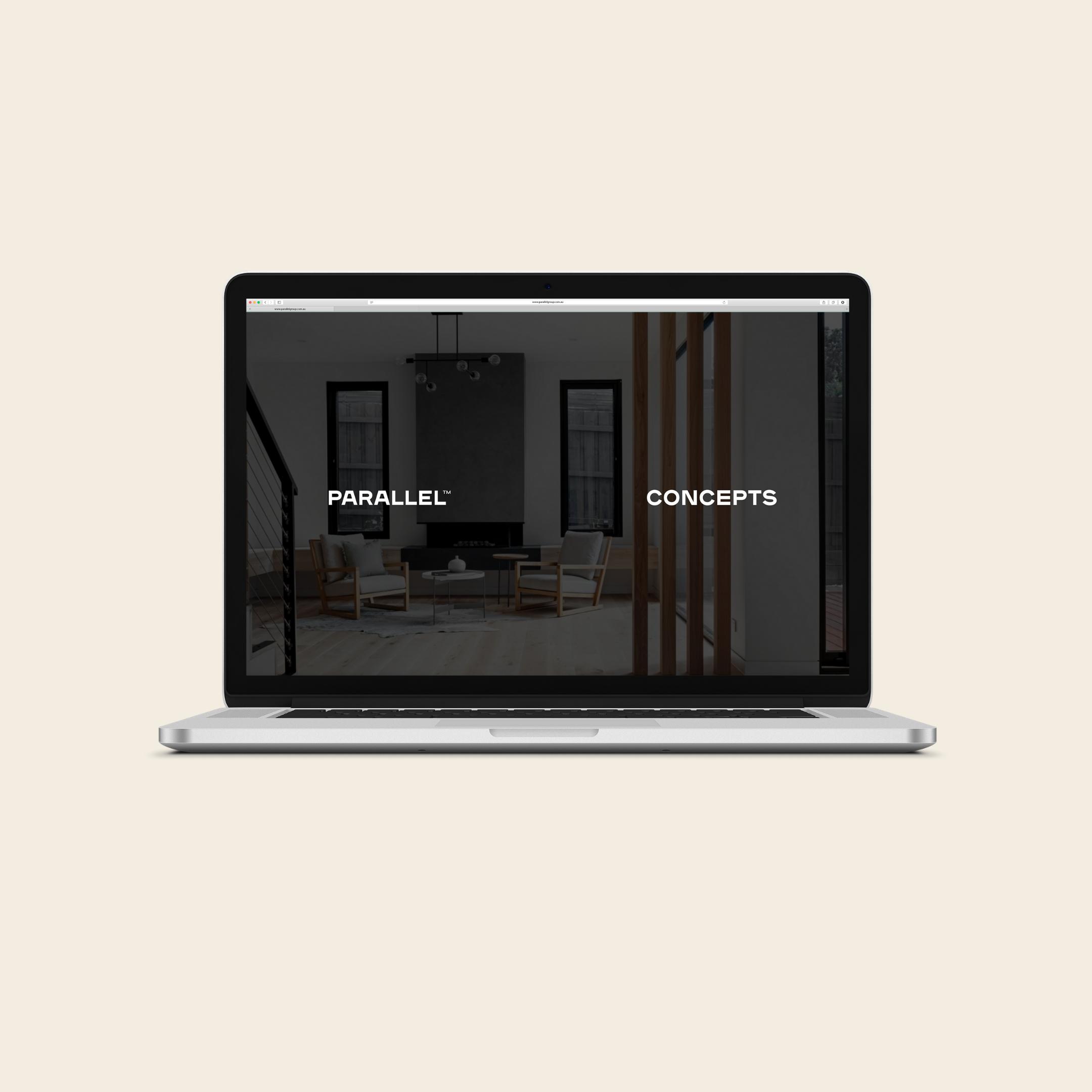build parallel website wordpress