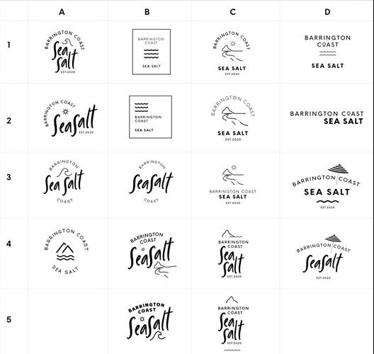 logo exploration logo designer sydney