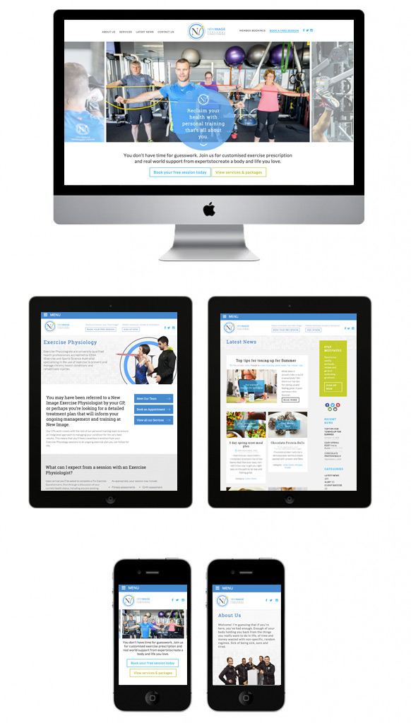 web-design-gym-personal-trainer-health-inustry