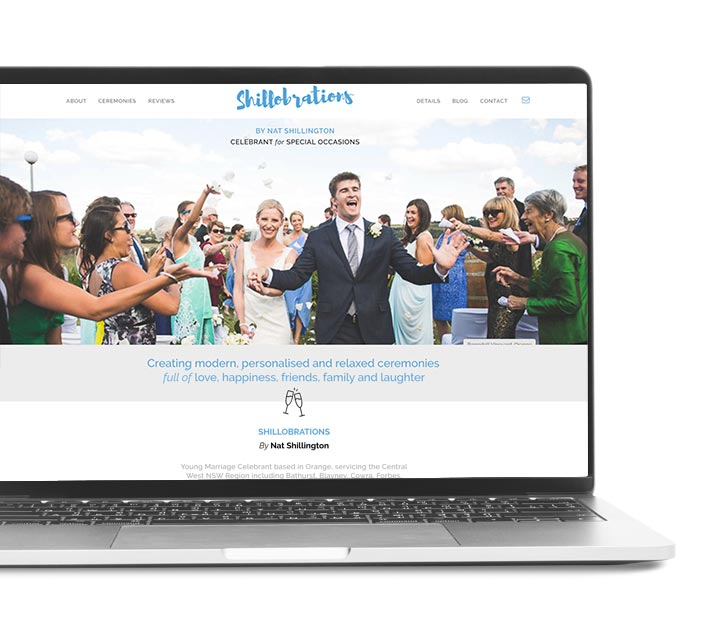 wedding-celebrant-website-design
